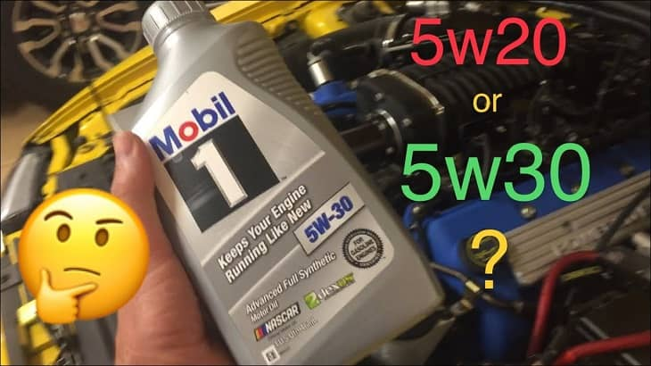 Can I Use 5W30 Instead of 5W20